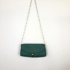Urban Expression Emerald Clutch